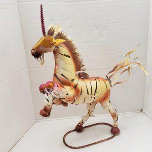 Other - Metal Animal Horse Unicorn Artwork Sculpture Big